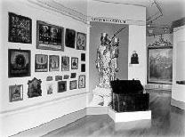 Ausstellungsraum Wallfahrtsmuseum