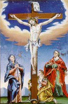 Heiland am Kreuz
