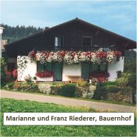 Franz Riederer, Bauernhof